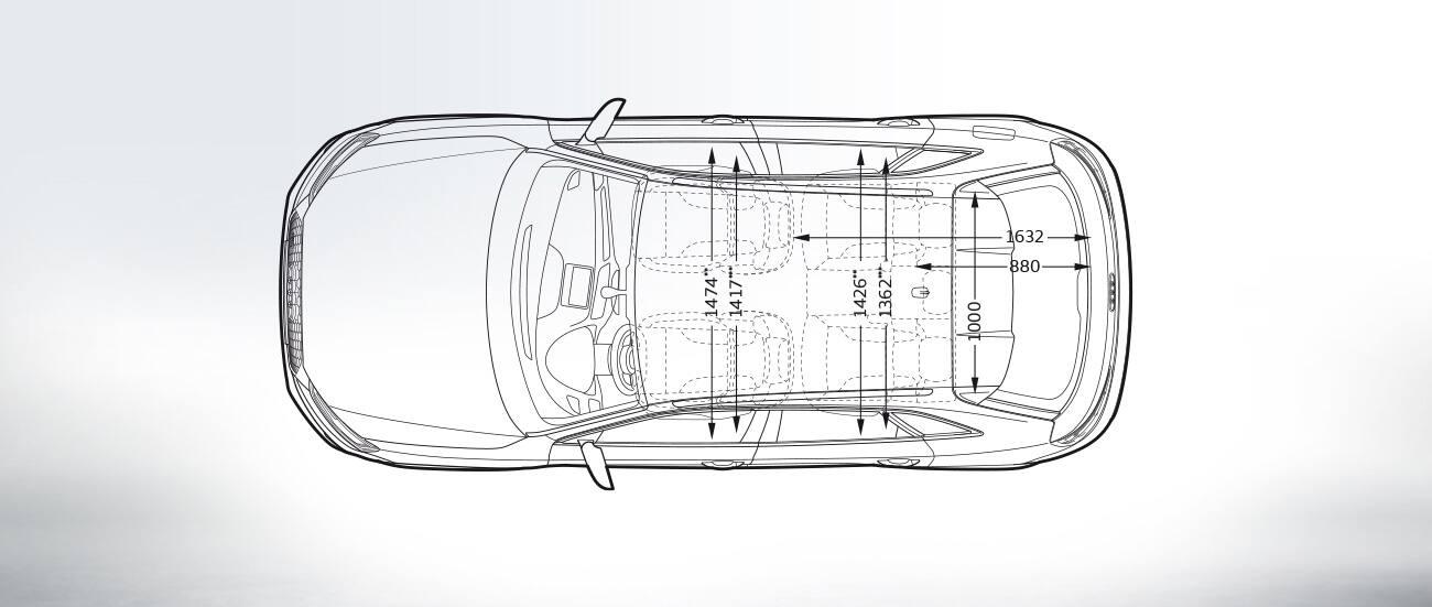 Audi Q2 Dimensions Diagram