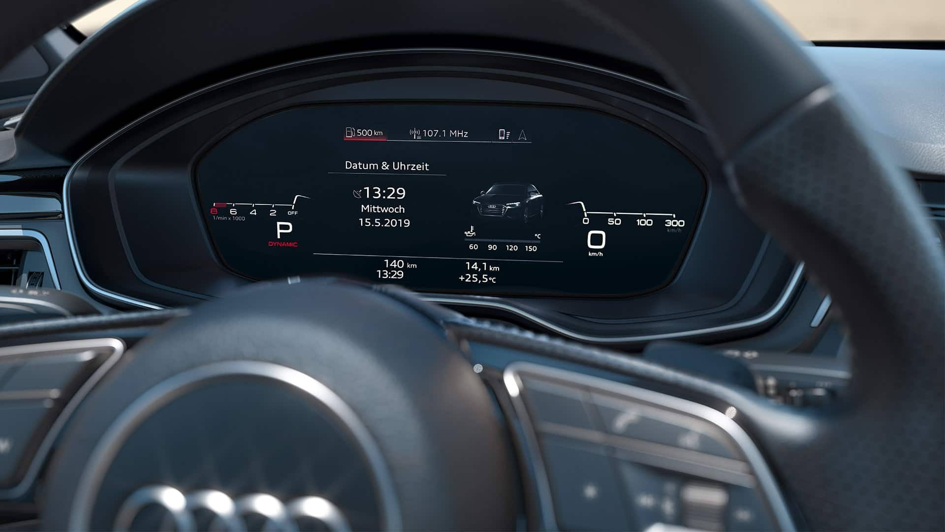 Audi virtual cockpit Audi S4 Saloon